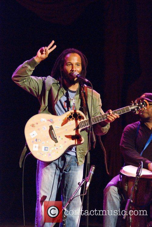 Ziggy Marley  performs 'Family Time' at the...