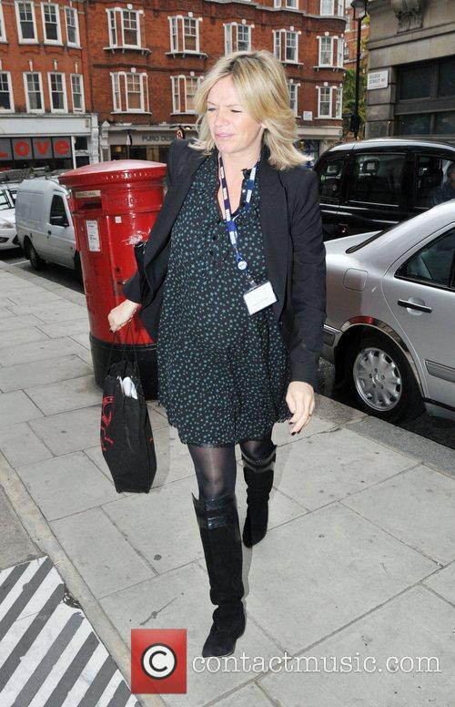 Arrives at the BBC Radio Two studios