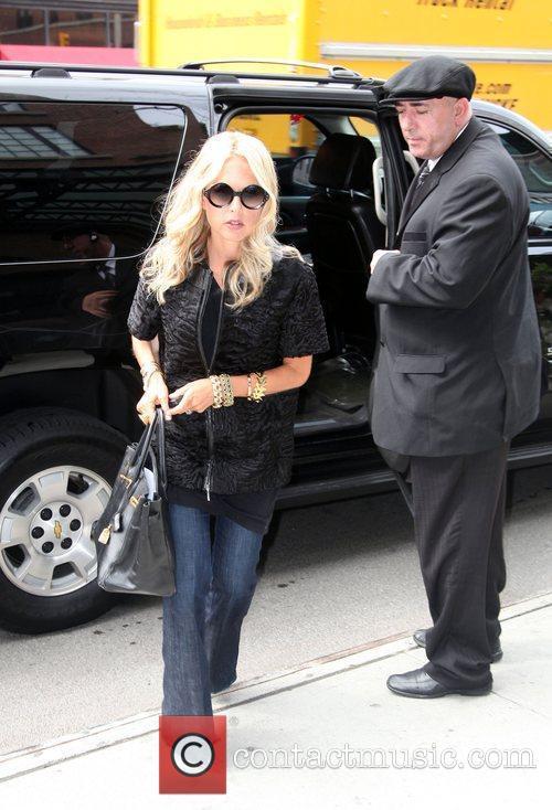 Rachel Zoe Arriving Back To Her Hotel 2