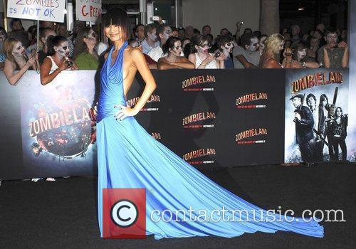 Bia Ling Los Angeles Premiere of 'Zombieland' held...