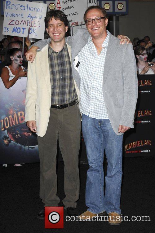Rhett Reese and Paul Wernick Los Angeles Premiere...