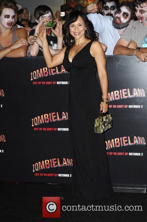 Rosy Perez Los Angeles Premiere of 'Zombieland' held...