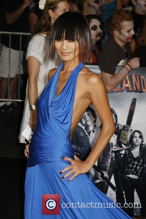 Bai Ling Los Angeles premiere of 'Zombieland' held...