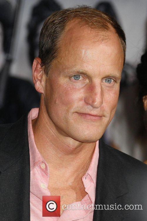 Woody Harrelson Los Angeles premiere of 'Zombieland' held...