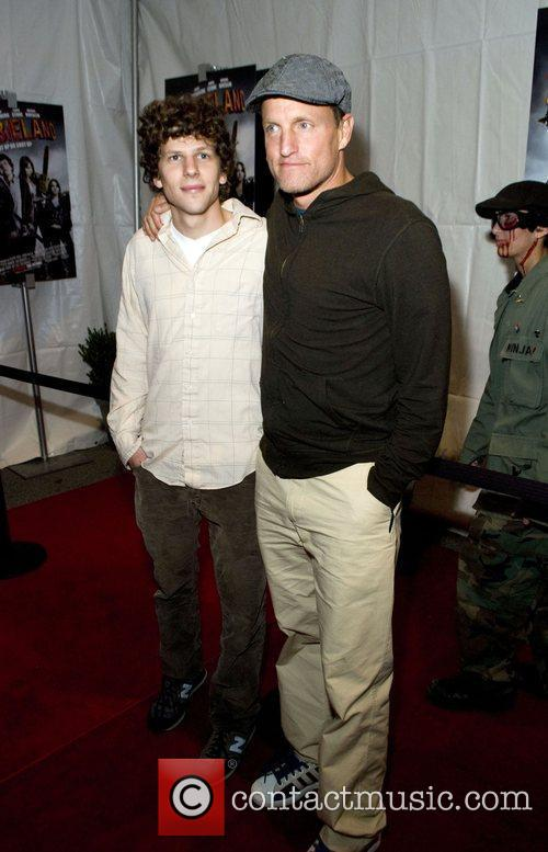 Jesse Eisenberg and Woody Harrelson 2