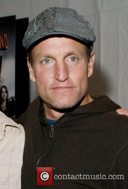 Woody Harrelson Chicago premiere of 'Zombieland' held at...