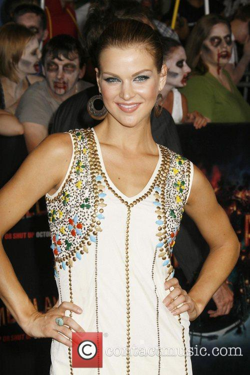 Lorena Torres Los Angeles Premiere of 'Zombieland' held...