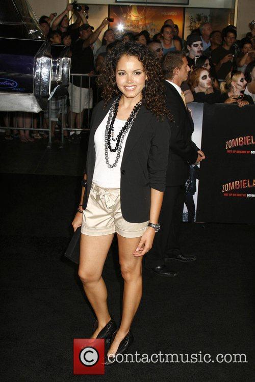 Susie Castillo Los Angeles Premiere of 'Zombieland' held...