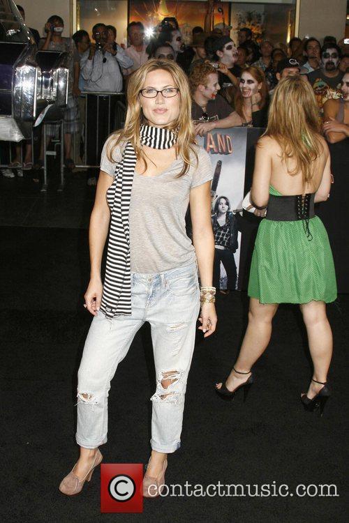 Vail Bloom Los Angeles Premiere of 'Zombieland' held...