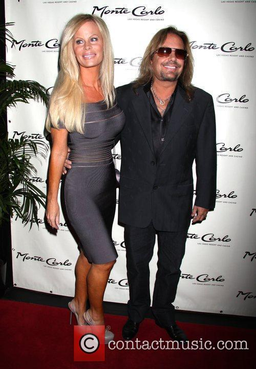 Vince Neil, Lia Neil Opening party for the...
