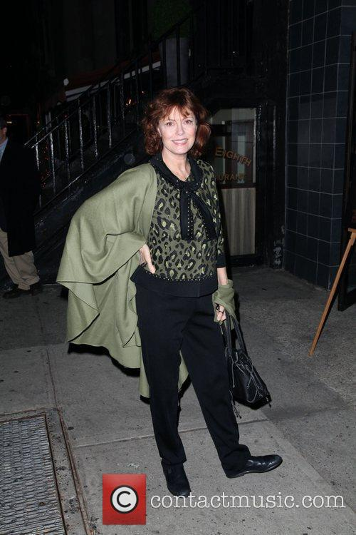 Susan Sarandon The New York premiere of '127...