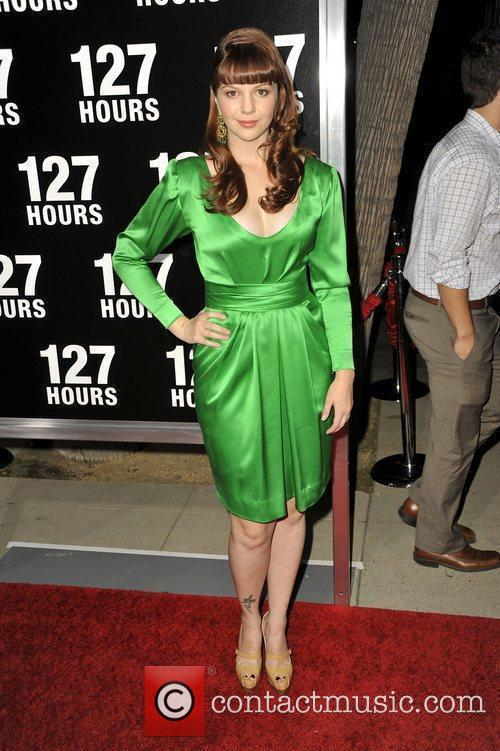 Amber Tamblyn Los Angeles Premiere of 127 Hours...