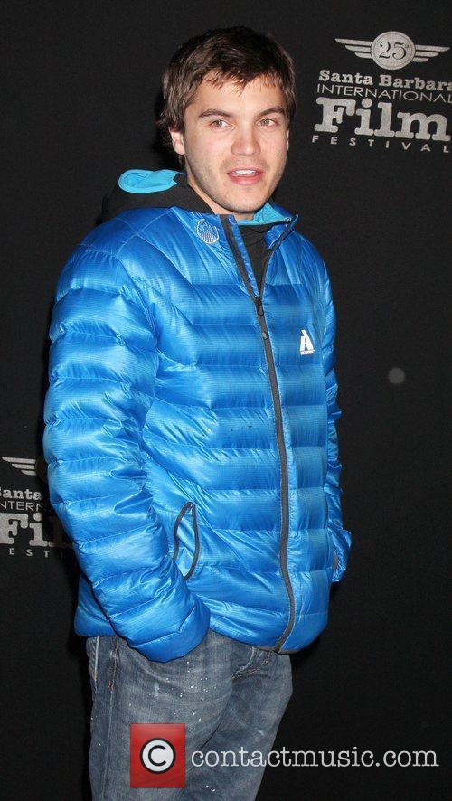 Emile Hirsch arriving at the '180 Degree South'...