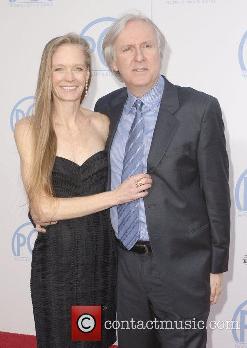 James Cameron and Wife Suzy Amis 1