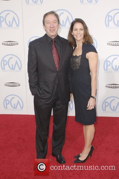 Tim Allen and Wife