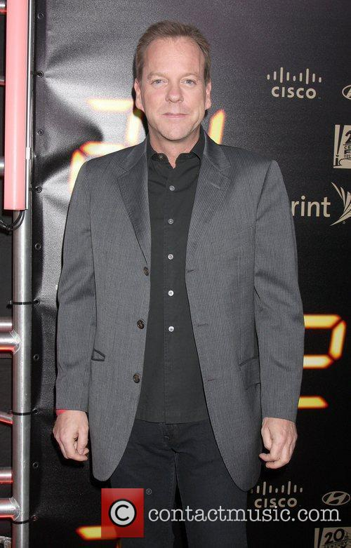 Actor Kiefer Sutherland and Kiefer Sutherland 3