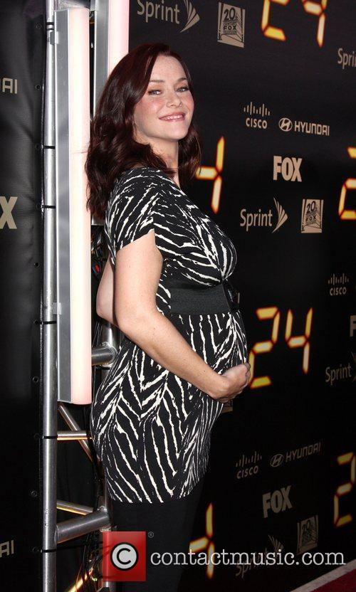 Annie Wersching  24 end of series party...