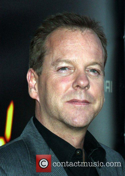 Kiefer Sutherland  24 end of series party...