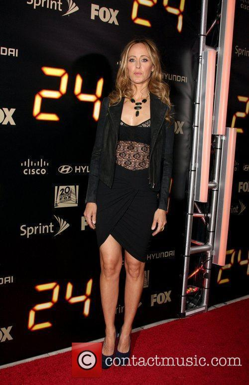 Kim Raver  24 end of series party...