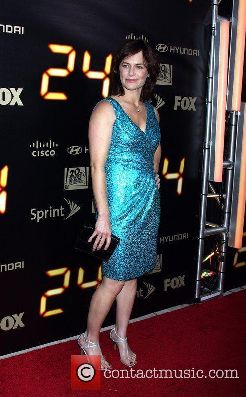 Sarah Clarke  24 end of series party...