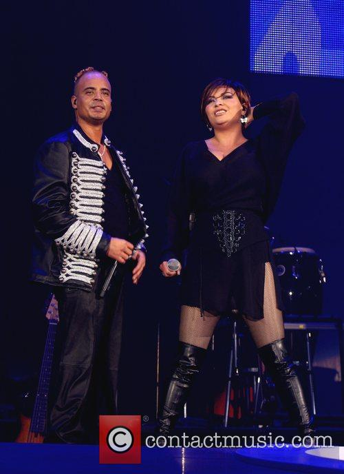 Ray Slijngaard and Anita Doth of 2 Unlimited...