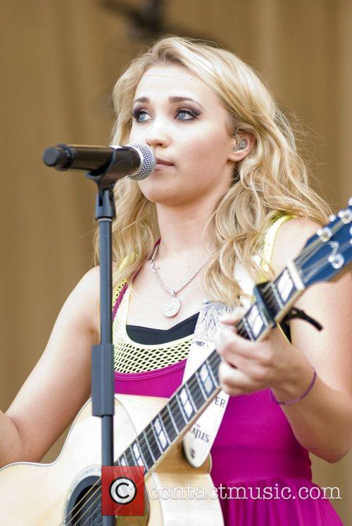 Emily Osment and Chicago 9