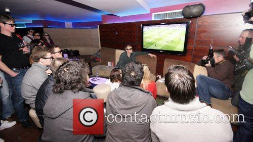 Football game Arsenal vs. Manchester United Manchester United...