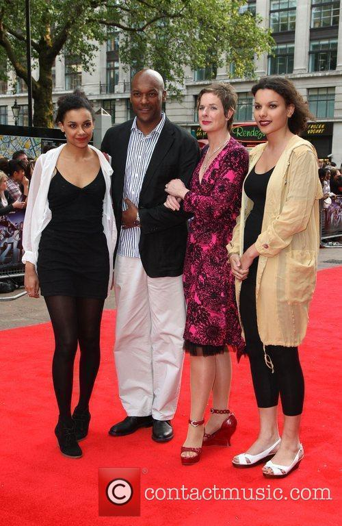 Guests World premiere of 4321 held at the...