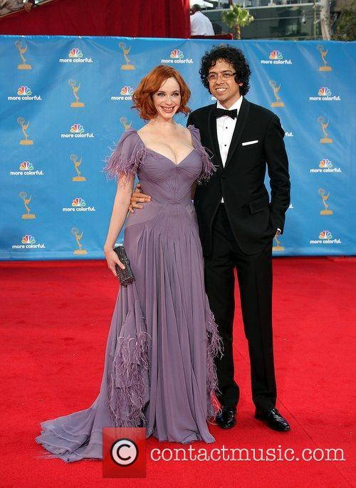 Christina Hendricks And Guest and Christina Hendricks