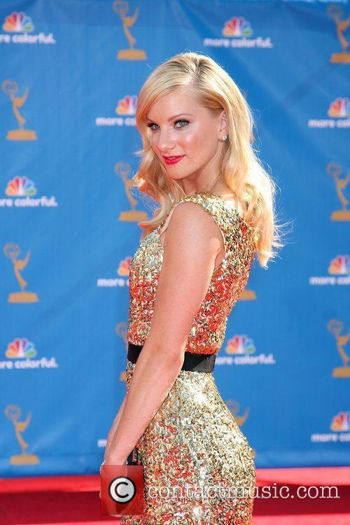 heather morris tattoo. Heather Morris Emmy Awards
