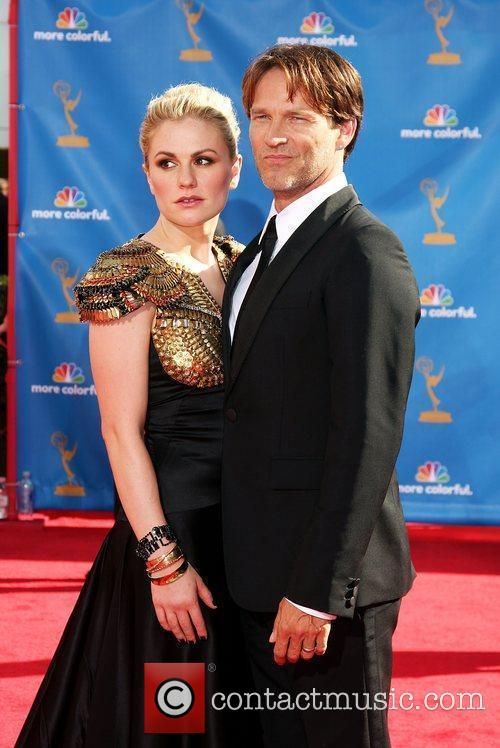Stephen Moyer and wife Anna Paquin The 62nd