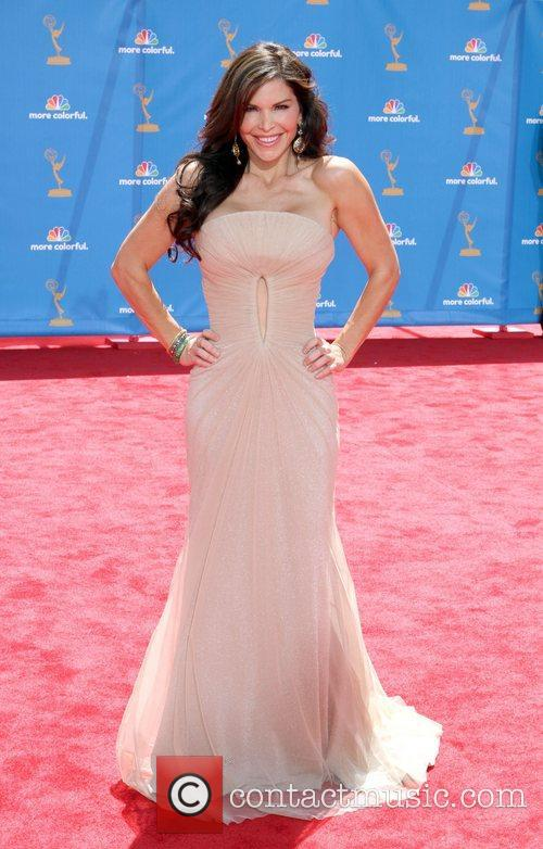 Arrives at the 62nd Annual Primetime Emmy Awards...