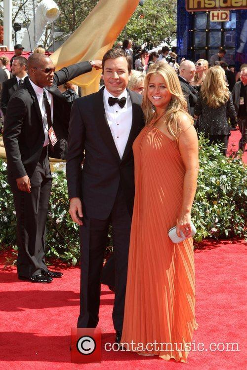Jimmy Fallon and Nancy Juvonen 1