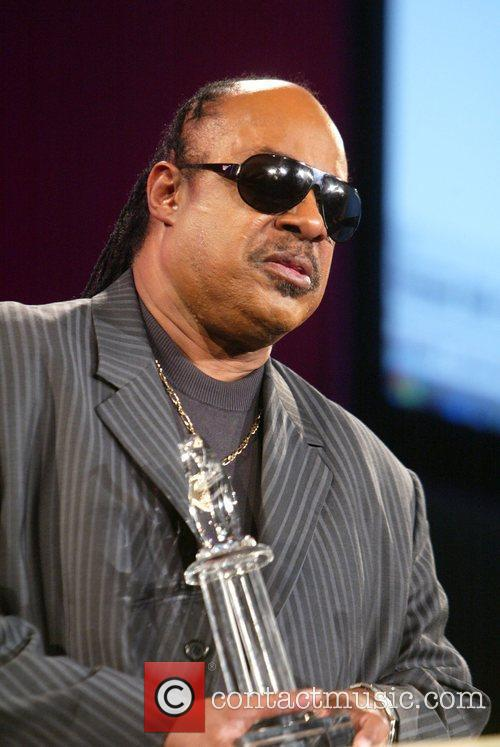 Stevie Wonder and Aapd Image Award Recipient 2