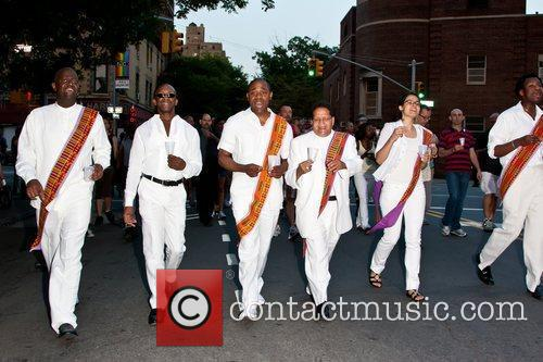 Atmosphere 25th annual AIDS candlelight vigil memorial parade...