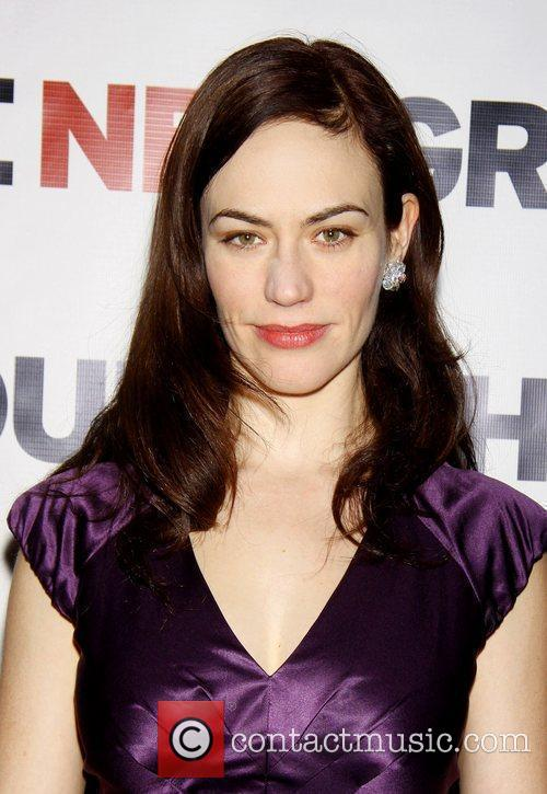 Maggie Siff The Opening night after party for...