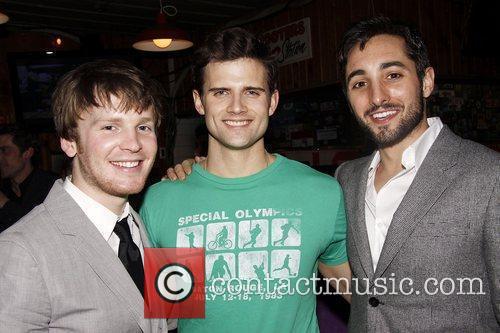 Corey Boardman, Kyle Dean Massey, and Eric Schneider...