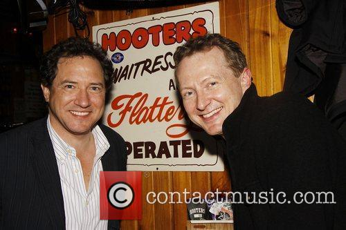 Kevin McCollum and Bob Martin The wrap party...