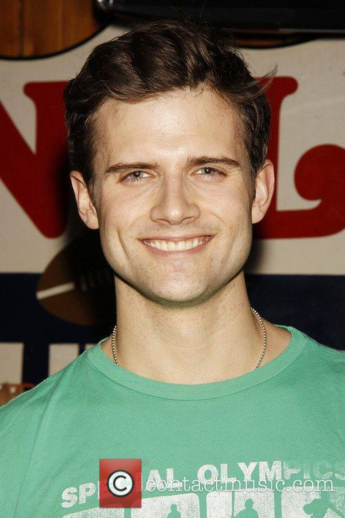 Kyle Dean Massey The wrap party for the...