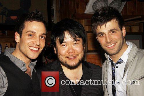 Ravi Roth, Director Stafford Arima, and Michael Kadin...