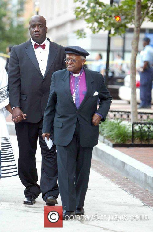 Archbishop Desmond Tutu Fords Theatre Society hosts their...