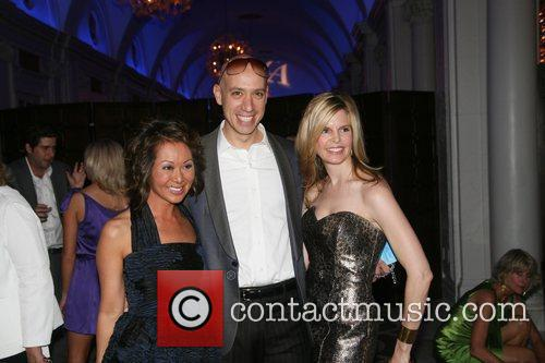 Alina Cho, Robert Verdi and Catherine Moellering at...