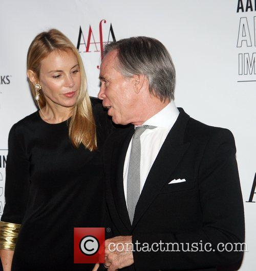 Dee Ocleppo and Husband Tommy Hilfiger at The...