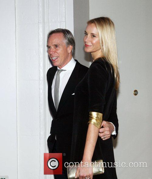 Tommy Hilfiger & Wife Dee Ocleppo at The...