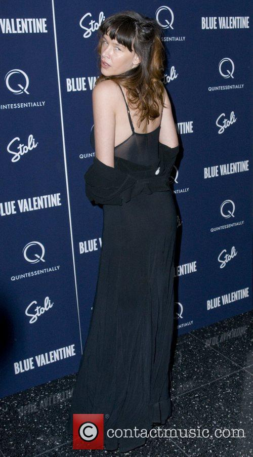 The New York premiere of Blue Valentine at...