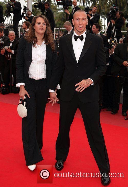 Laure Manaudou and Frederick Bousquet Cannes International Film...