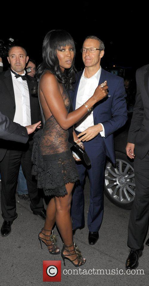 Naomi Campbell and Vladimir Doronin the Chopard 150th...