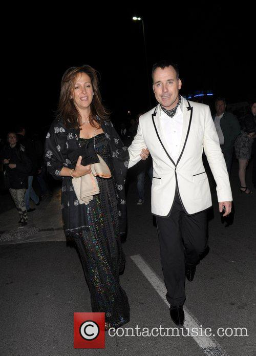 David Furnish and Guest the Chopard 150th Anniversary...