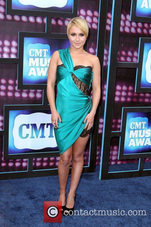 Hayden Panettiere  2010 CMT Music Awards Blue...