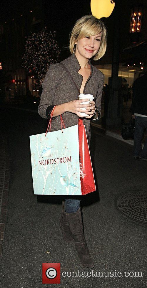 Chelsea Staub was spotted shopping at the Grove...